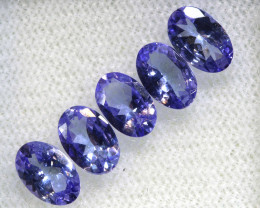 1.84CTS  TANZANITE  FACETED  STONE PARCEL  PG-3416