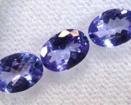 2.08CTS  TANZANITE  FACETED  STONE PARCEL  PG-3421