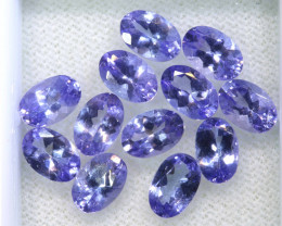 5.69CTS  TANZANITE  FACETED  STONE PARCEL  PG-3422