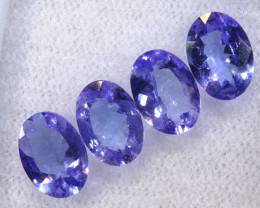 3.12CTS  TANZANITE  FACETED  STONE PARCEL  PG-3424
