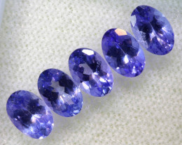 2.41CTS  TANZANITE  FACETED  STONE PARCEL  PG-3427