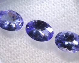 2.30CTS  TANZANITE  FACETED  STONE PARCEL  PG-3431