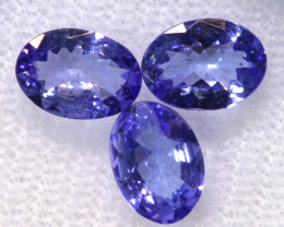 1.90CTS  TANZANITE  FACETED  STONE PARCEL  PG-3432