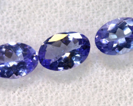 1.89CTS  TANZANITE  FACETED  STONE PARCEL  PG-3434