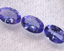 1.03CTS  TANZANITE  FACETED  STONE PARCEL  PG-3445