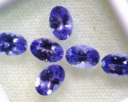 2.79CTS  TANZANITE  FACETED  STONE PARCEL  PG-3447