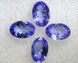 1.58CTS  TANZANITE  FACETED  STONE PARCEL  PG-3454
