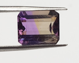 Best Quality Genuine Ametrine 4.80 Carats(Natural and Untreated)