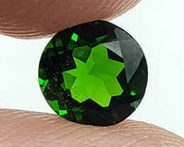 Natural Green Diopside Gemstone Completely Natural