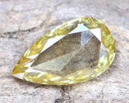 Yellow Diamond 0.18Ct Untreated Genuine Fancy Diamond B0212