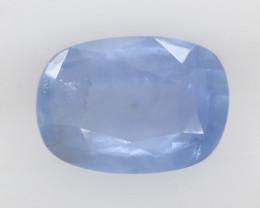 1.35 carats   Natural Blue Sapphire   7.8 x 5.6 x 3 mm   Cushion Cut