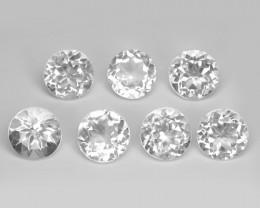 11.64 Carat 7 PCS Amazing White Natural Topaz Gemstones