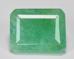 3.14 Cts Natural Vivid Green Zambian Emerald Loose Gemstone