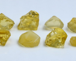 48.90 CT Natural - Unheated Yellow Opal Rough lot