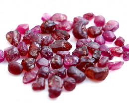 50.30 CT Natural - Unheated Purple Garnet Rough Lot