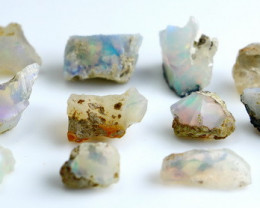 27.80 CT Natural - Unheated White Opal Rough Lot