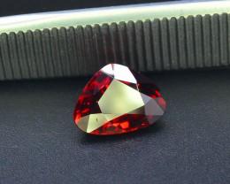 Read Description 2.15 ct heart shape Garnet ~Tanzania