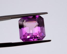7.92 CT FREE SHIPPING! Custom Fancy Cut Purple Amethyst (Uruguay)