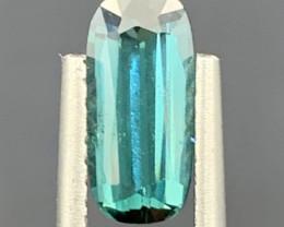 1.12 Carats Blue Color Tourmaline Gemstone