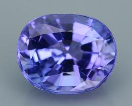 AAA Grade 1.06 ct Tanzanite eye catching Color SKU.28