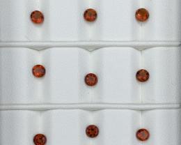 3.60 Carats Mandarin Garnet  Gemstones