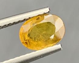 1.16 Carats Yellow Sapphire Gemstone