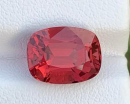 Loupe Clean 5.25 ct NATURAL PINKISH RED SPINEL FROM BURMA