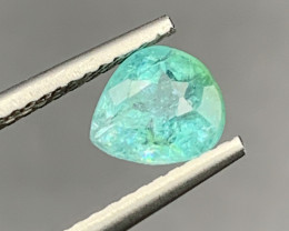 Paraiba GFCO Certified 0.99 Carats Natural Color Paraiba Tourmaline Gemston