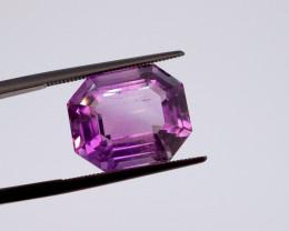 12.03 CT FREE SHIPPING! Custom Fancy Cut Purple Amethyst (Uruguay)