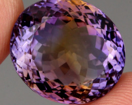 24.05 ct. 100% Natural Earth Mined Top Quality Ametrine Bolivia Unheated