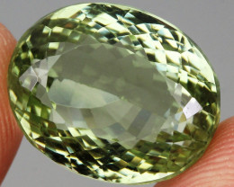 24.53  ct. 100% Natural Earth Mined Unheated Top Nice Green Amethyst Brazil