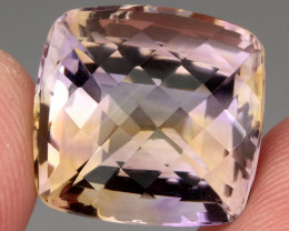 22.59 Ct. 100% Natural Earth Mined Top Quality Ametrine Bolivia Unheated