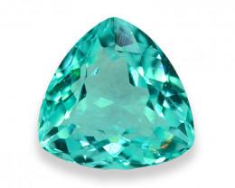 0.86 Cts Stunning Lustrous Neon Blue Paraiba