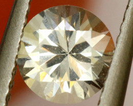 1.08 cts CERTIFIED WHITE SAPPHIRE FACETED  GEMSTONE   TBM- 774