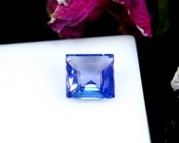 GGTI-Certified-0.70  ct Blue Tanzanite Gemstone Natural