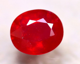 Ruby 6.24Ct Madagascar Blood Red Ruby E0623/A20
