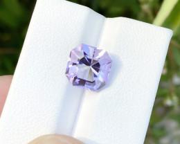4.05 Ct Natural Light Purplish Transparent Amethyst Gemstone