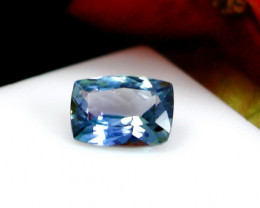 GGTI-Certified-1.05  ct Blue Tanzanite Gemstone Natural