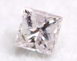Pink Diamond 0.10Ct Untreated Genuine Fancy Diamond A0305