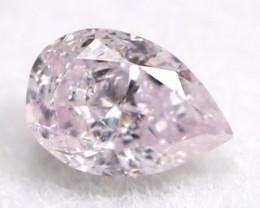 Pink Diamond 0.07Ct Untreated Genuine Fancy Diamond A0307