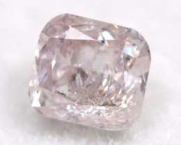 Pink Diamond 0.12Ct Untreated Genuine Fancy Diamond A0308