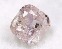 Pink Diamond 0.15Ct Untreated Genuine Fancy Diamond A0309