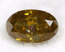 Green Diamond 0.19Ct Untreated Genuine Fancy Diamond B0304