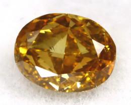 Champagne Diamond 0.14Ct Untreated Genuine Fancy Diamond B0307