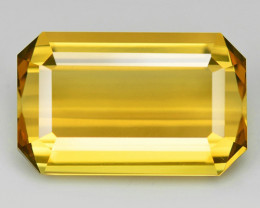 12.62 Cts Natural Golden Yellow Citrine Loose Gemstone