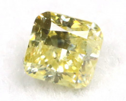 Yellow Diamond 0.13Ct Untreated Genuine Fancy Diamond C0305