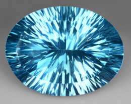 29.85 Cts Untreated Topaz Excellent Luster & Color Gemstone TP4