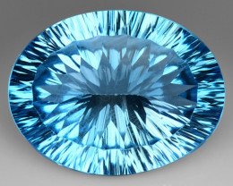 31.43 Cts Untreated Topaz Excellent Luster & Color Gemstone TP5