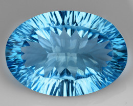 25.65 Cts Untreated Topaz Excellent Luster & Color Gemstone TP12