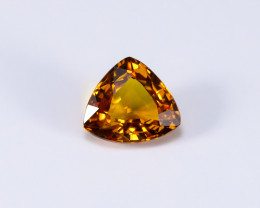 2.39ct Lab Certified Natural Orange Sapphire